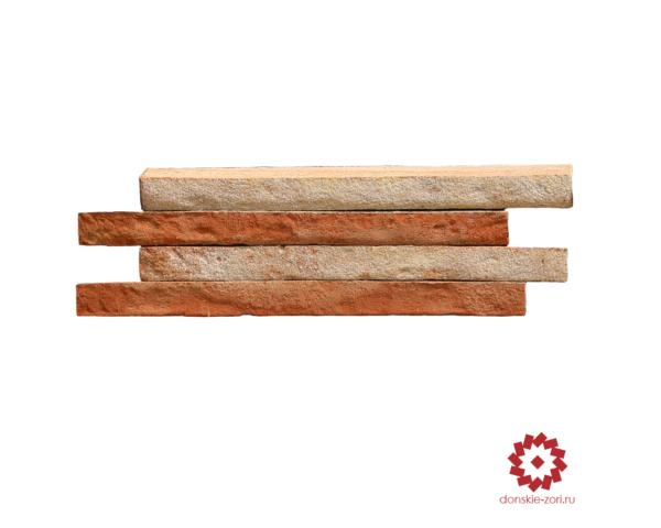 Клинкерный кирпич ручной формовки Донские зори Ренардъ формата Ринель или Long