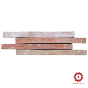 Клинкерный кирпич ручной формовки Донские зори Вена формата Ринель или Long