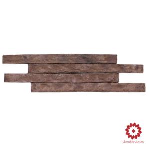Клинкерный кирпич ручной формовки Донские зори Голицынъ формата Ринель или Long