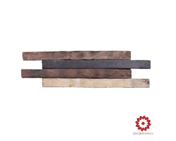 Клинкерный кирпич ручной формовки Донские зори Тюдоръ формата Ринель или Long